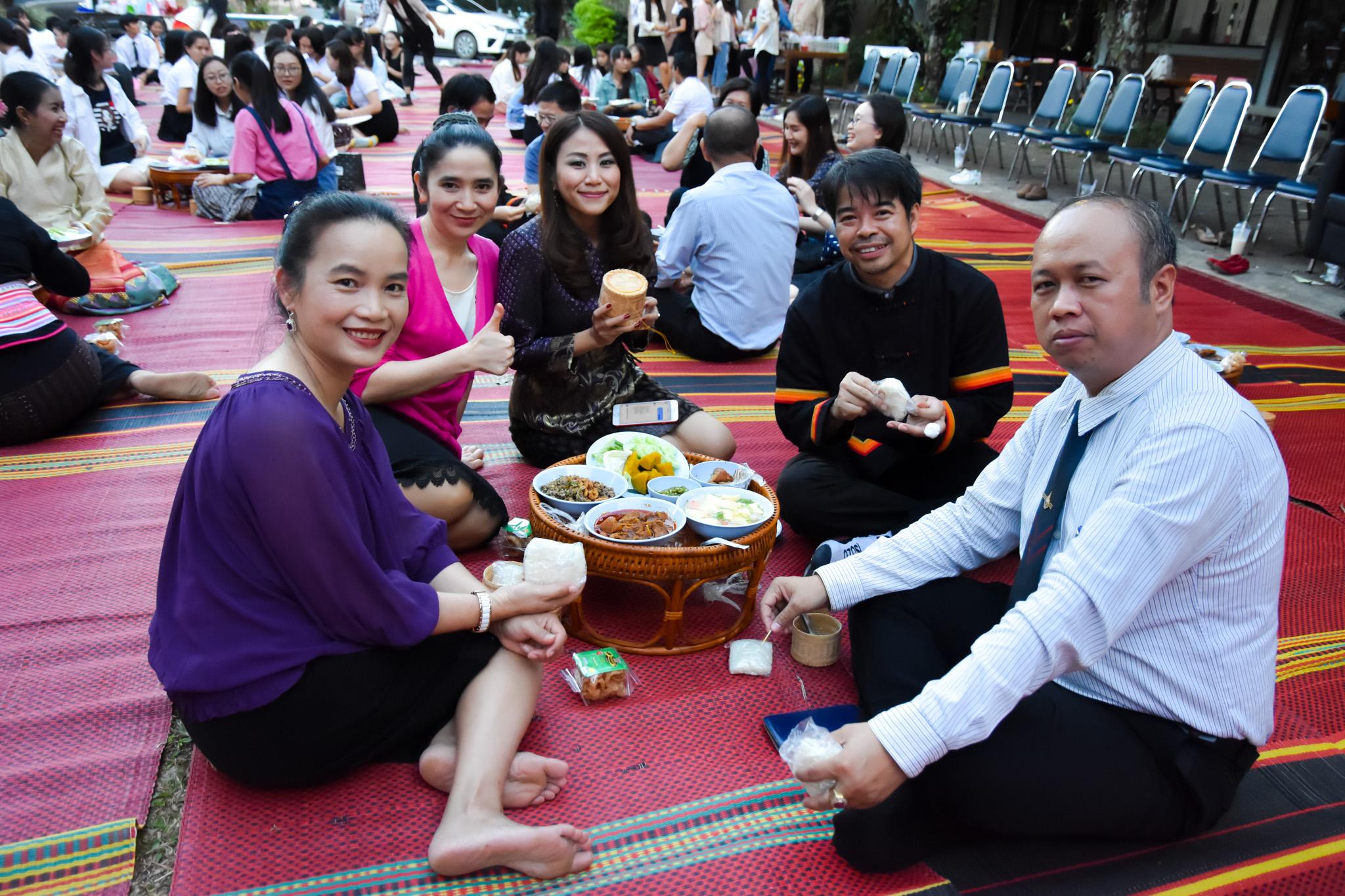 อบรมภาษาอังกฤษเชิงวิชาการและสานสัมพันธ์นักศึกษาไทย-จีน